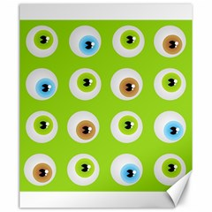 Eyes Background Structure Endless Canvas 20  X 24