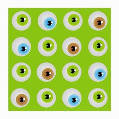 Eyes Background Structure Endless Medium Glasses Cloth (2-Side)