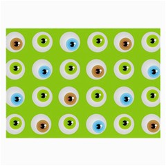 Eyes Background Structure Endless Large Glasses Cloth