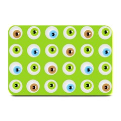 Eyes Background Structure Endless Plate Mats
