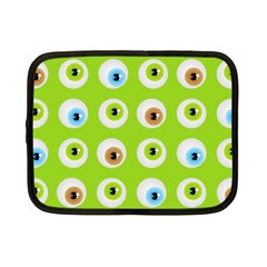 Eyes Background Structure Endless Netbook Case (small)