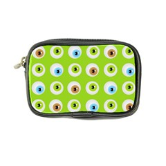 Eyes Background Structure Endless Coin Purse