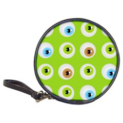 Eyes Background Structure Endless Classic 20-CD Wallets