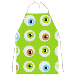 Eyes Background Structure Endless Full Print Aprons