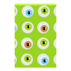 Eyes Background Structure Endless Shower Curtain 48  X 72  (small)