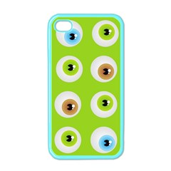 Eyes Background Structure Endless Apple Iphone 4 Case (color)
