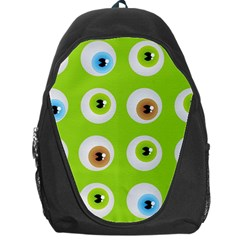 Eyes Background Structure Endless Backpack Bag