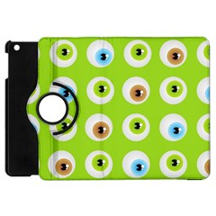 Eyes Background Structure Endless Apple Ipad Mini Flip 360 Case
