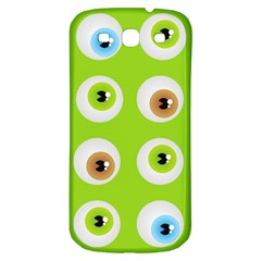 Eyes Background Structure Endless Samsung Galaxy S3 S Iii Classic Hardshell Back Case