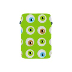 Eyes Background Structure Endless Apple Ipad Mini Protective Soft Cases