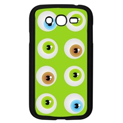 Eyes Background Structure Endless Samsung Galaxy Grand DUOS I9082 Case (Black)