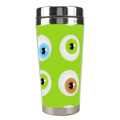 Eyes Background Structure Endless Stainless Steel Travel Tumblers