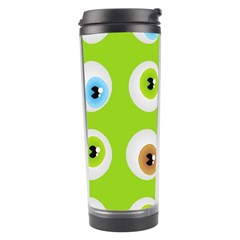 Eyes Background Structure Endless Travel Tumbler