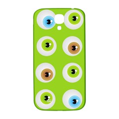 Eyes Background Structure Endless Samsung Galaxy S4 I9500/I9505  Hardshell Back Case