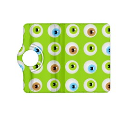 Eyes Background Structure Endless Kindle Fire Hd (2013) Flip 360 Case