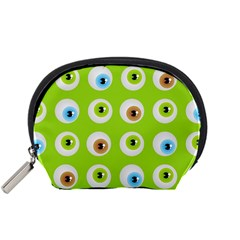 Eyes Background Structure Endless Accessory Pouches (small)