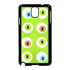 Eyes Background Structure Endless Samsung Galaxy Note 3 Neo Hardshell Case (black)