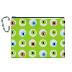 Eyes Background Structure Endless Canvas Cosmetic Bag (xl)