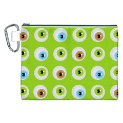Eyes Background Structure Endless Canvas Cosmetic Bag (xxl)