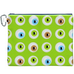 Eyes Background Structure Endless Canvas Cosmetic Bag (xxxl)