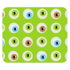 Eyes Background Structure Endless Double Sided Flano Blanket (small)