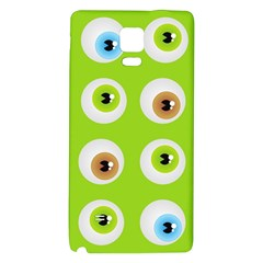 Eyes Background Structure Endless Galaxy Note 4 Back Case