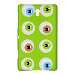 Eyes Background Structure Endless Samsung Galaxy Tab S (8 4 ) Hardshell Case