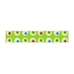 Eyes Background Structure Endless Flano Scarf (mini)