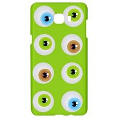 Eyes Background Structure Endless Samsung C9 Pro Hardshell Case