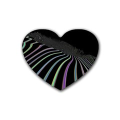 Graphic Design Graphic Design Heart Coaster (4 Pack)