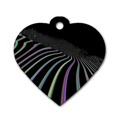 Graphic Design Graphic Design Dog Tag Heart (one Side)