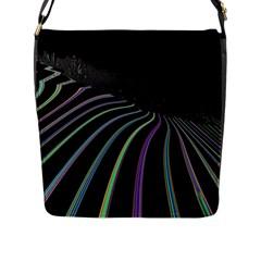 Graphic Design Graphic Design Flap Messenger Bag (L)