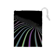 Graphic Design Graphic Design Drawstring Pouches (Medium)