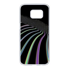 Graphic Design Graphic Design Samsung Galaxy S7 Edge White Seamless Case