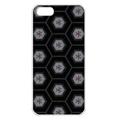Mandala Calming Coloring Page Apple Iphone 5 Seamless Case (white)