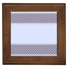 Blue Modern Framed Tiles
