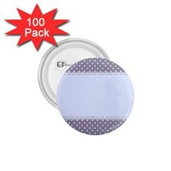Blue Modern 1 75  Buttons (100 Pack)