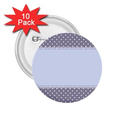 Blue Modern 2.25  Buttons (10 pack)