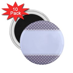 Blue Modern 2.25  Magnets (10 pack)