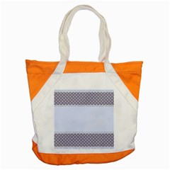 Blue Modern Accent Tote Bag