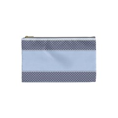 Blue Modern Cosmetic Bag (small)
