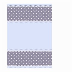 Blue Modern Small Garden Flag (Two Sides)