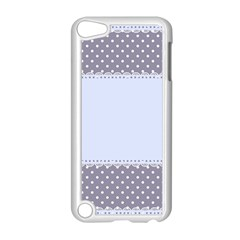 Blue Modern Apple iPod Touch 5 Case (White)