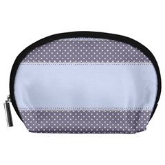 Blue Modern Accessory Pouches (Large)