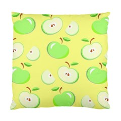 Apples Apple Pattern Vector Green Standard Cushion Case (one Side)