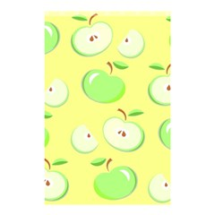 Apples Apple Pattern Vector Green Shower Curtain 48  x 72  (Small)