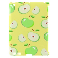 Apples Apple Pattern Vector Green Apple iPad 3/4 Hardshell Case (Compatible with Smart Cover)