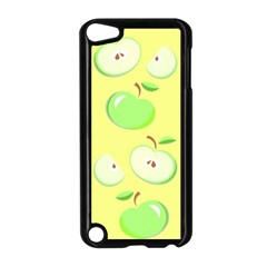 Apples Apple Pattern Vector Green Apple iPod Touch 5 Case (Black)