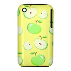 Apples Apple Pattern Vector Green iPhone 3S/3GS