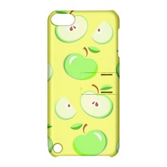 Apples Apple Pattern Vector Green Apple iPod Touch 5 Hardshell Case with Stand